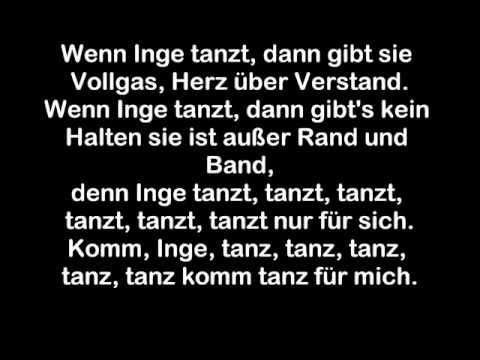 Systemfehler - Wenn Inge tanzt (LYRICS on Screen!)