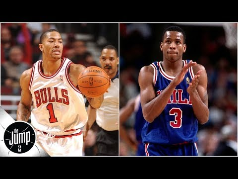The top 3 rookie crossovers ever (is Iverson on MJ No. 1?) | The Jump