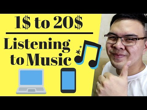 Earn Money Listening to Music! $1 to 20$ per Song - Tagalog Mp3