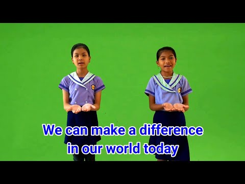 We Can Make A Difference Actions | School Song | Assembly Song | Classroom Song