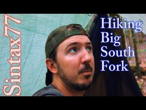 Hiking Big South Fork Pt 1 - Tennessee Hammock Camping & Backpacking Trip