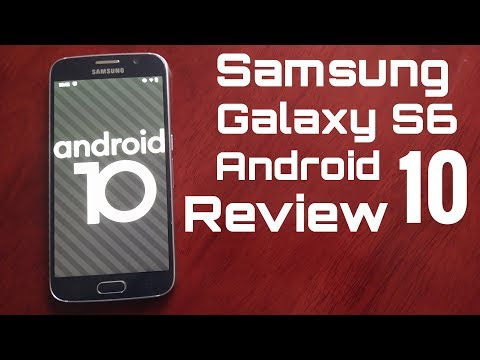 Samsung Galaxy S6 Android 10 Lineage OS 17.1 Review (MY GALAXY S6 IS ALIVE & KICKING AGAIN IN 2020)