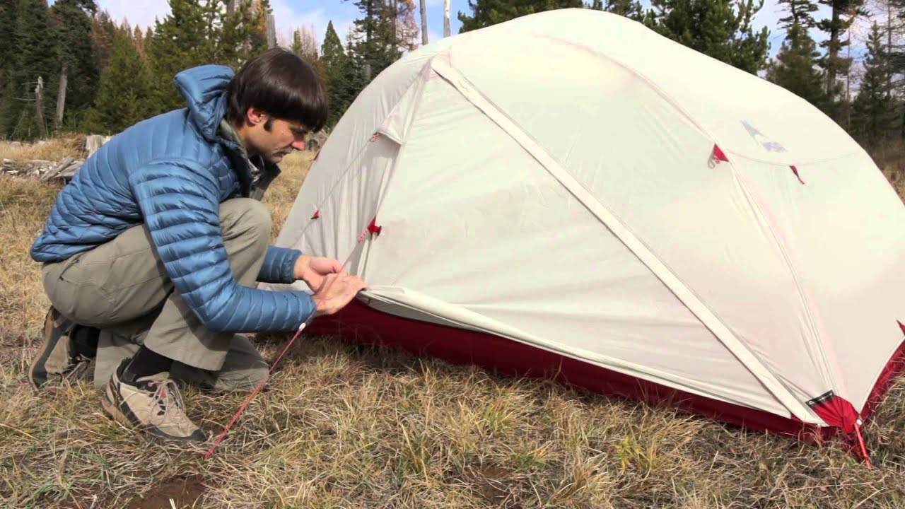 & MSR Tents: Mutha Hubba NX Overview - YouTube