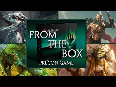 From the Box: Commander Anthology 2 Gameplay Precon CMDR Atraxa Daretti Mimeoplasm Kalemne