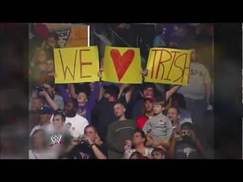 2013 WWE Hall of Fame Inductee Trish Stratus: Raw, Jan. 28, 2013