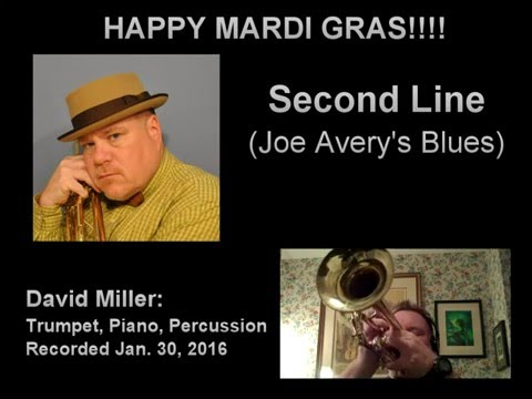 Second Line (Joe Avery's Blues) - David Miller, Trumpet