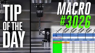 MACRO HACKS! Automate Your Tool Offsets and Data - Haas Automation Tip of the Day