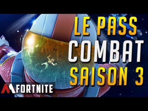 LE NOUVEAU PASSE DE COMBAT 3 ET ARRIVÉ   SUR  FORTNITE 265 TOP 1 GO LES 25K
