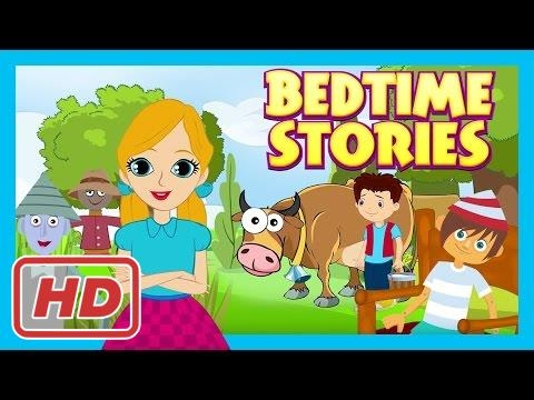 Bedtime Stories - Pinocchio, Jack and The Beanstalk and The Wizard Of OZ || Storytelling