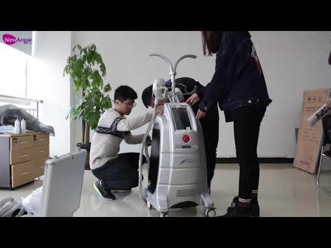 【ETG15-4】Cryolipolysis Fat Freeze Slim Machine Unbox