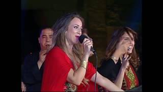 وصلة دبكة - دلال أبو آمنة / مهرجان القلعة - القاهرة 2018