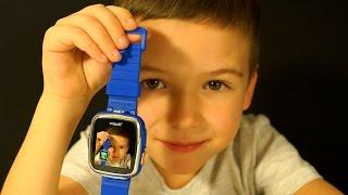👾 Умные Часы Vtech Kidizoom Smart Watch DX Обзор на русском - Игрушки для Детей