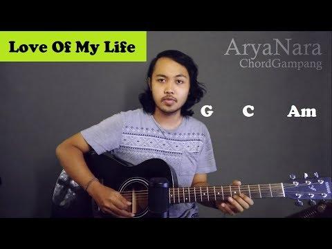 Chord Gampang (Love Of My Life - Queen) By Arya Nara (Tutorial Gitar) Untuk Pemula