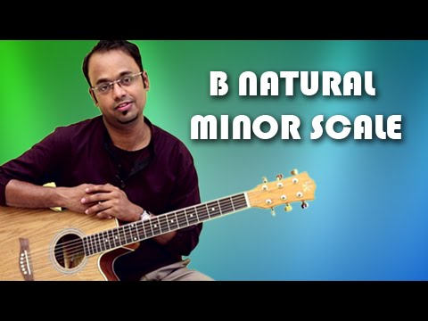 how-to-play---b-natural-minor-scale---guitar-lesson-for-beginners