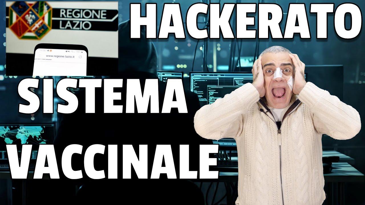 Hacker attaccano il sistema vaccinale della regione Lazio