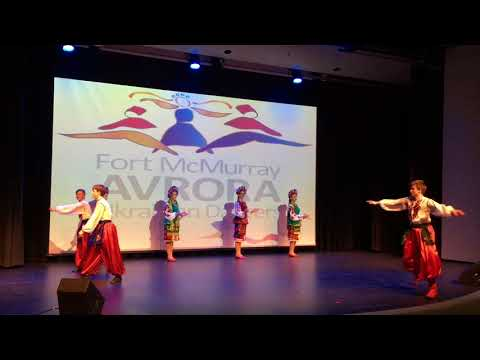 Fort McMurray Ukrainian Dancers, Vaselka dancing the Hopak
