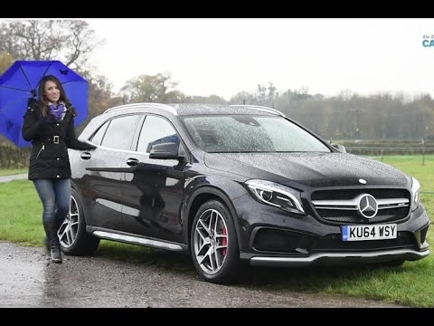 mercedes gla 45 amg review 2014 | telegraph cars - youtube