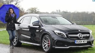 Mercedes GLA 45 AMG review 2014 | TELEGRAPH CARS