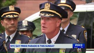 NYPD stepping up security for NYC Pride Parade