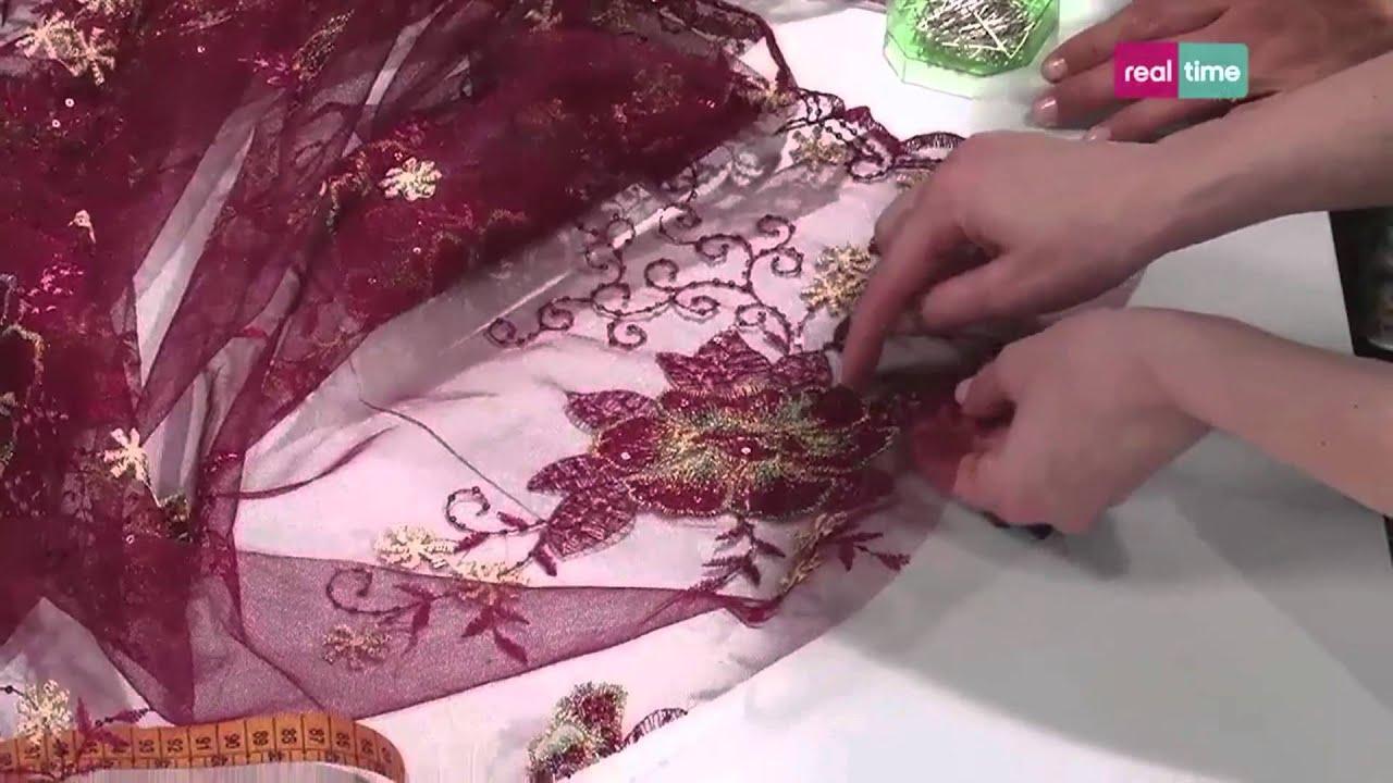 Amato Come applicare un inserto in tulle a un abito - I tutorial di Re  QI07