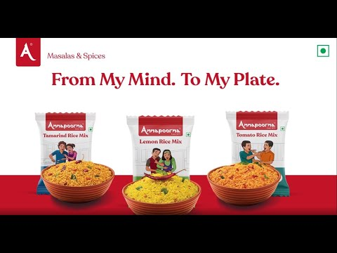 From My Mind. To My Plate.   Annapoorna Masalas and Spices