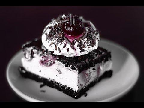 Шоколадный торт с творожным суфле рецепт