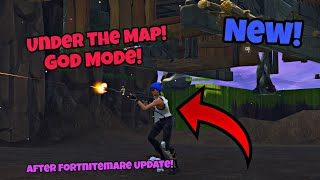 How To Go Under The Map After Fortnitemare Update (New) Fortnite Glitches Season 6 Ps4/Xbox one 2018