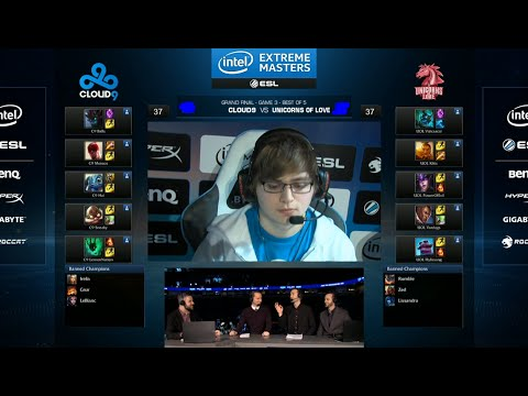 Cloud 9 vs Unicorns of Love | Game 3 Grand Finals IEM San Jose LOL 2014 | C9 vs UOL G3