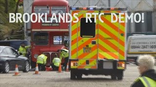 Brooklands Emergency Show 2015: Ultimate Emergency Vehicle/RTC Demo