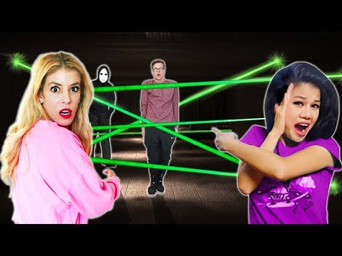GAME MASTER Escape Room Overnight w/ Vy Qwaint and Rebecca Zamolo (New Clues and Mysterious Riddles)