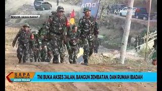 Peringati HUT Ke-74, TNI Bantu Membangun Desa