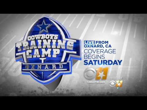 CBS 11 7/21/17 10 pm Jason Witten on Camp and the young players