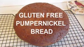 Gluten Free Pumpernickel Bread