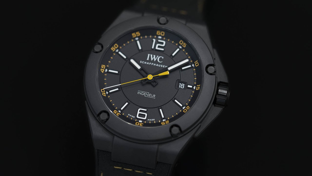 iwc schaffhausen ingenieur automatic amg gt edition youtube. Black Bedroom Furniture Sets. Home Design Ideas