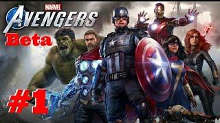 Jugando a la Beta de Marvel's Avengers -PS4-  (DIRECTO)