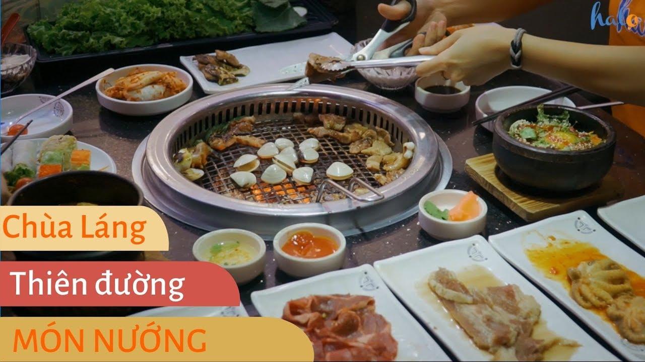 HALO ĂN GÌ #8 | Thiên đường đồ nướng Chùa Láng | Ẩm thực đường phố Hà Nội