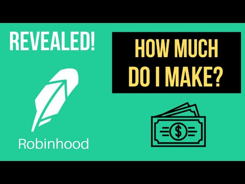 HOW MUCH I MAKE TRADING OPTIONS ON ROBINHOOD! (As A Beginner Options Trader)