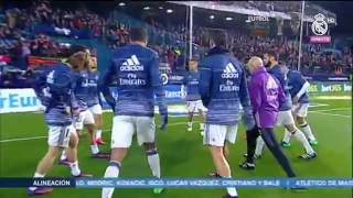 Video Real Madrid warm up before facing Atletico Madrid download MP3, 3GP, MP4, WEBM, AVI, FLV September 2018