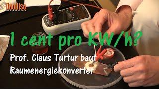 1 Cent pro kWh? - Prof. Claus Turtur zeigt wie es geht