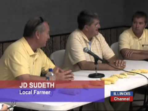 Sen Durbin and Ag Leaders Discuss Drought's Impact on Consumers