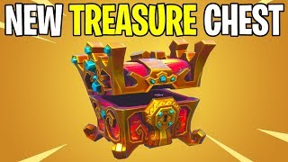 *NEW* TREASURE CHEST FOUND WITHIN SEASON 8 FORTNITE BATTLE ROYALE ☠️☠️☠️