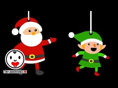 Baby Sensory | Happy Holidays! High Contrast Colour Animation (Infant Visual Stimulation)