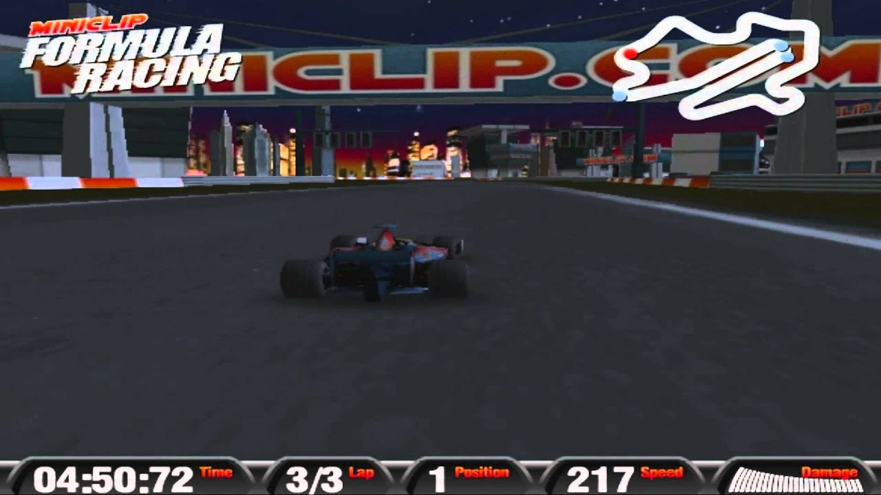 Race Car Games On Miniclip
