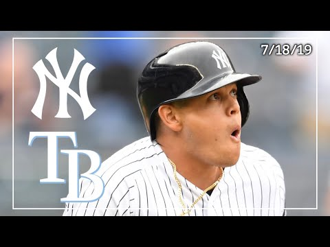 Tampa Bay Rays @ New York Yankees | Game Highlights | 7/18/19