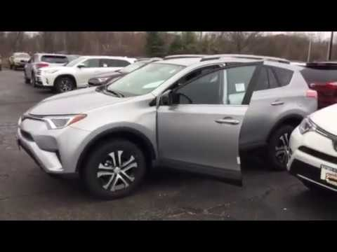 2017 Rav4 Le Silver On Black Brad