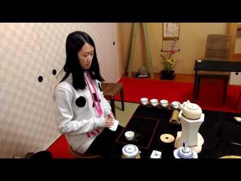 Tea ceremorny lesson