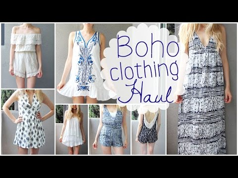 Summer Clothing Haul: Boho Tumblr Style