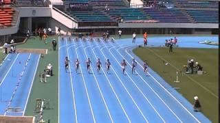 20140510 都大会男子100m予選5組