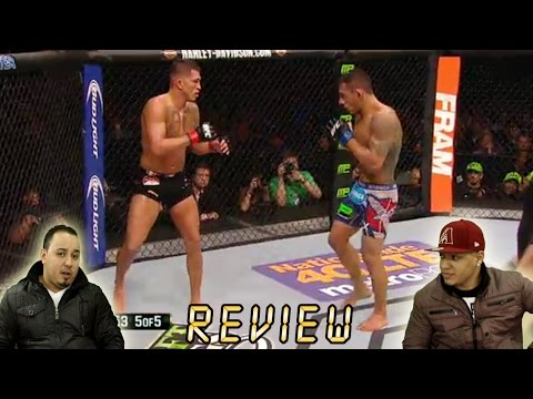UFC 185 - Pettis vs Dos Anjos full fight Analysis - Anthony pettis vs Rafael Dos Anjos [REVIEW]