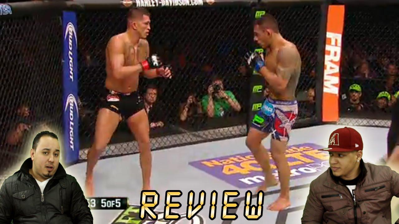 UFC 185 Pettis Vs Dos Anjos Full Fight Analysis